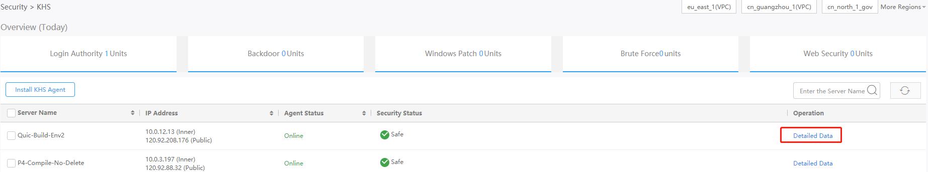 Configure features